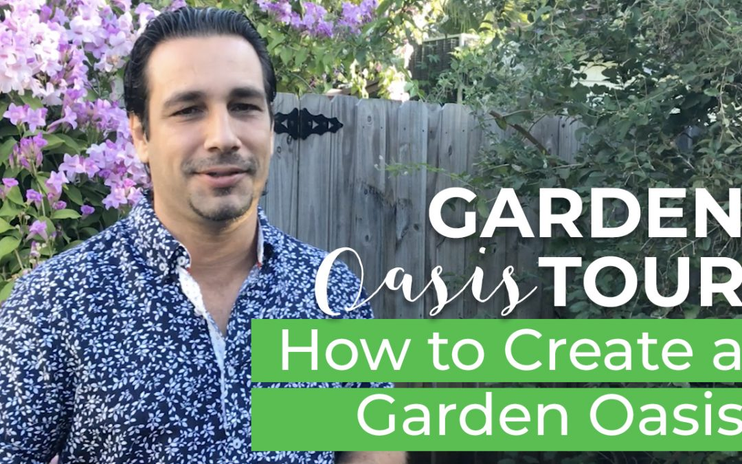 Garden Oasis Tour | How to Create a Garden Oasis In Your Backyard